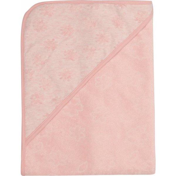 Badetuch mit Kapuze blush pink