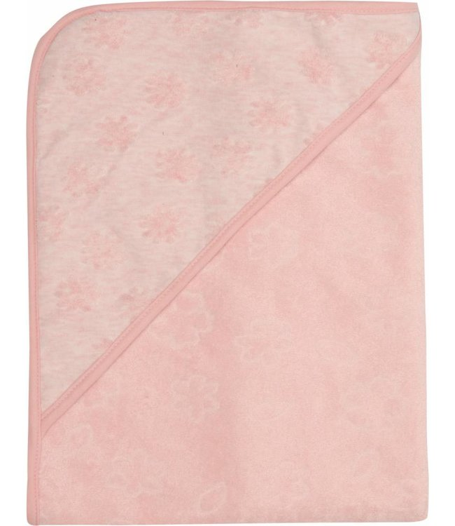 Zewi bébé-jou Badetuch mit Kapuze blush pink