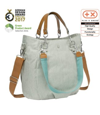 Lässig Wickeltasche Mix'n Match light grey