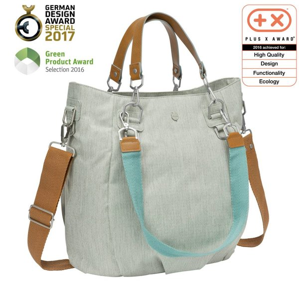 Wickeltasche Mix'n Match light grey