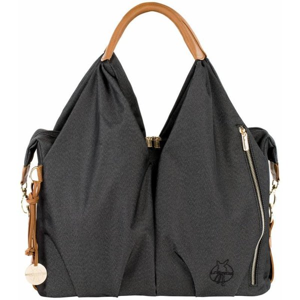 Wickeltasche Neckline denim black