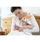 Zewi bébé-jou Badetuch mit Kapuze Igel