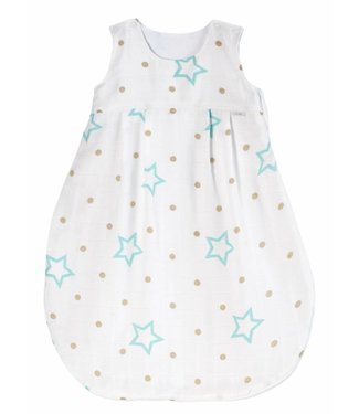 Zewi bébé-jou Schlafsack white Stars