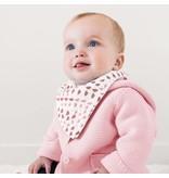 Bebe au Lait Bandana rose quartz + petal Muslin