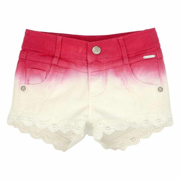 Mädchen Webshort pink