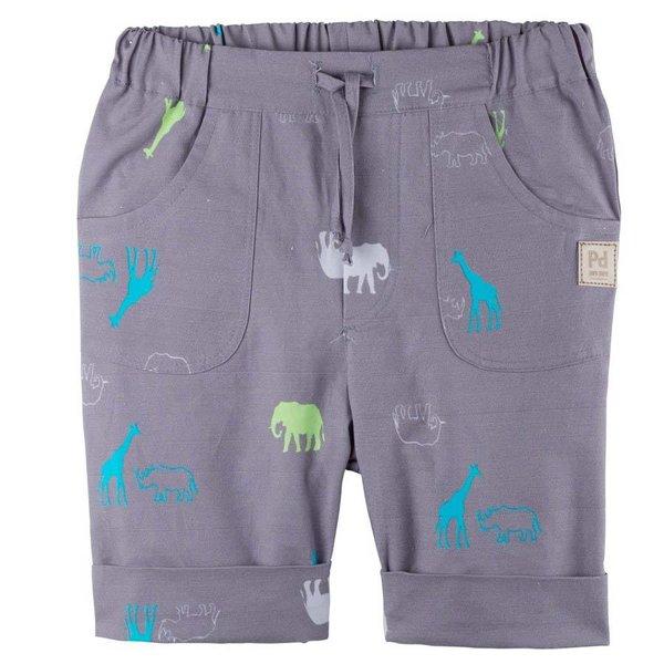 Kinder Shorts dark taupe