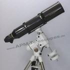 Omegon Omegon Teleskop AP 150 f/5 ED Triplet Carbon Apo mit Riccardi Reducer Set