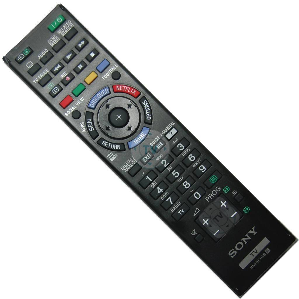 Sony Afstandsbediening Rmed058 Afstandsbediening Tv