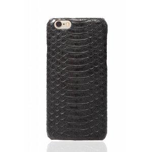 CWL iPhone 6 Plus / 6s Plus Olive Black Real Snake Skin