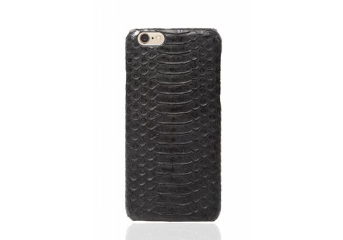 Cases We Love iPhone 6 Plus / 6s Plus Olive Black Real Snake Skin