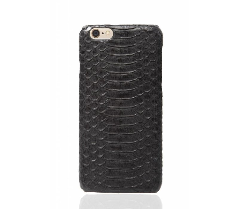 iPhone 6 Plus / 6s Plus Olive Black Real Snake Skin