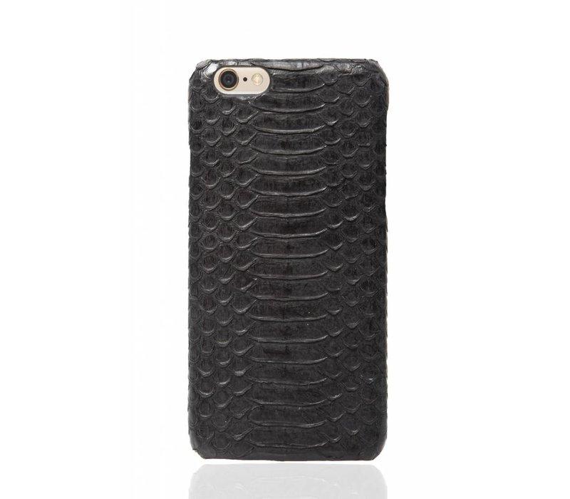 iPhone 6 Plus / 6s Plus Olive Black Real Snake Skin