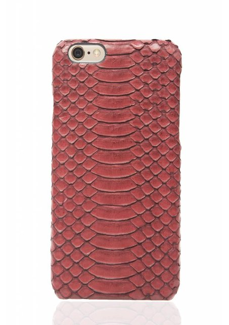 Antique Ruby snake skin iPhone case