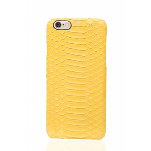 Cases We Love iPhone 6/6s Cadmium Yellow Real Snake Leather