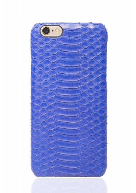Pantone blue snake skin iPhone case