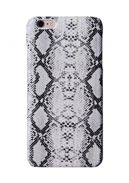 Limited white snake skin iPhone case