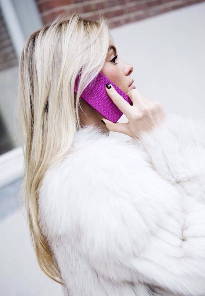 iPhone 6 Plus / 6s Plus Byzantine pink snake