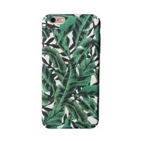 iPhone 6 Plus / 6s Plus Green Tropical Leaf