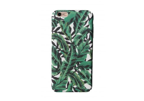 Cases We Love iPhone 6 Plus / 6s Plus Green Tropical Leaf