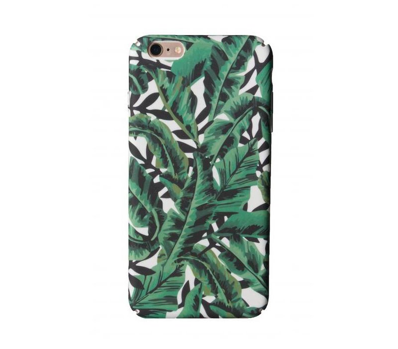 iPhone 6 Plus / 6s Plus Green Tropical Leaf