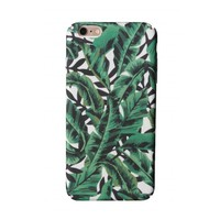 iPhone 7/8 Green Tropical Leaf