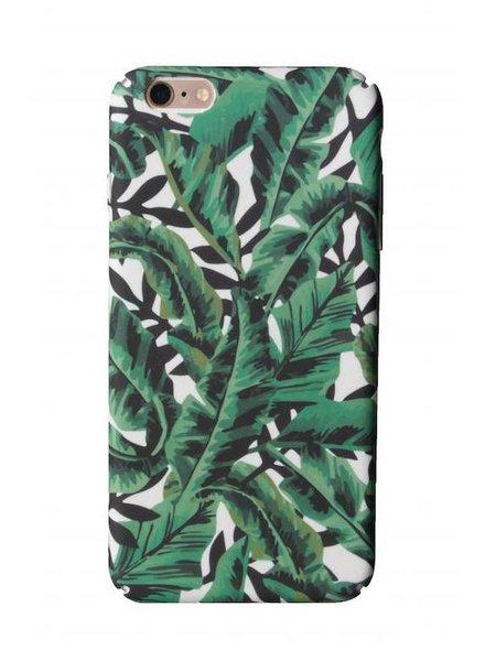 iPhone 7 Green Tropical Leaf