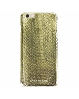 iPhone 6/6s Gold Real Snake Skin Leather