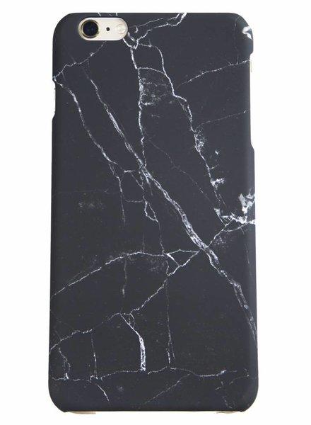 iPhone 7 Plus Pure Black Matte Marble