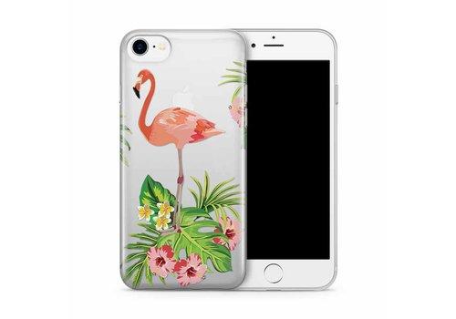 Cases We Love iPhone 7/8 Flamingo Garden