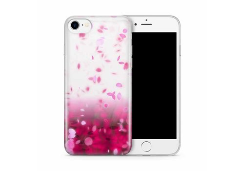 Cases We Love iPhone 7/8 Pink Rain Cherry Blossom