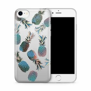 Cases We Love iPhone 7/8 Blue Pineapple
