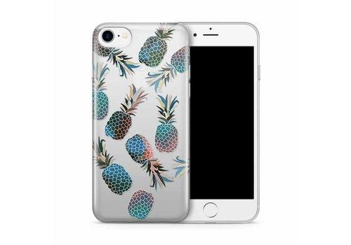 Apple iPhone 7/8 Blue Pineapple