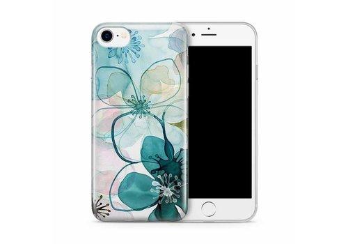 Cases We Love iPhone 7/8 Purple Peony Watercolor