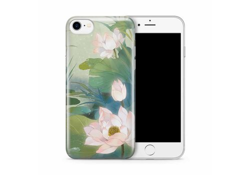 Cases We Love iPhone 7/8 Romantic Water Lily