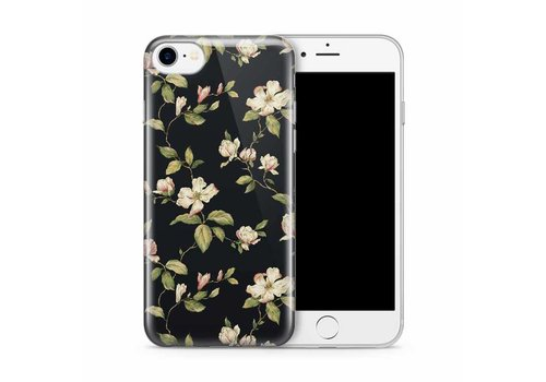 Apple iPhone 7/8 Floral Black