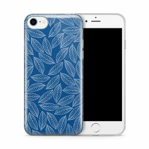 Cases We Love iPhone 7/8 Blue Leaves Melody