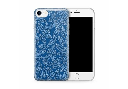 Apple iPhone 7/8 Blue Leaves Melody