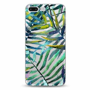 Cases We Love iPhone 7 Plus / 8 Plus Aloha Summer Green Leaves