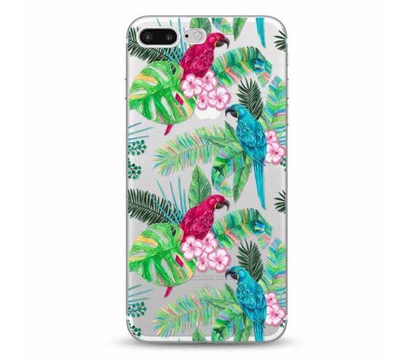 iPhone 7 Plus / 8 Plus Peacock Floral