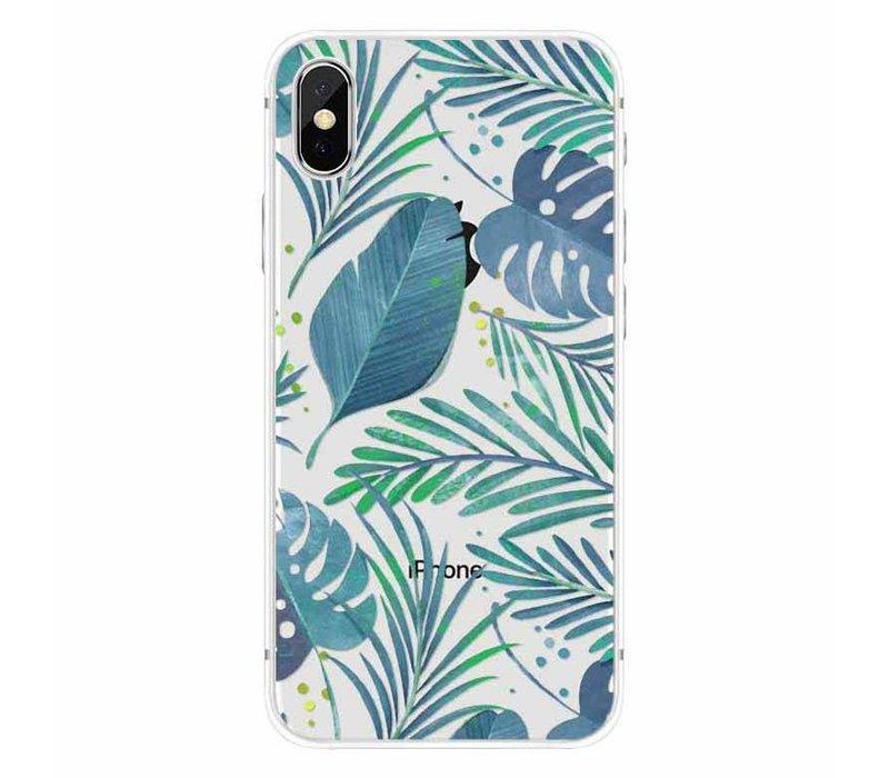 iPhone X Tropical Palm