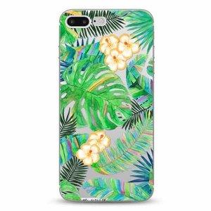 Cases We Love iPhone 7 Plus / 8 Plus Tropical Leaves