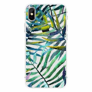 Cases We Love iPhone X Aloha Summer Green Leaves