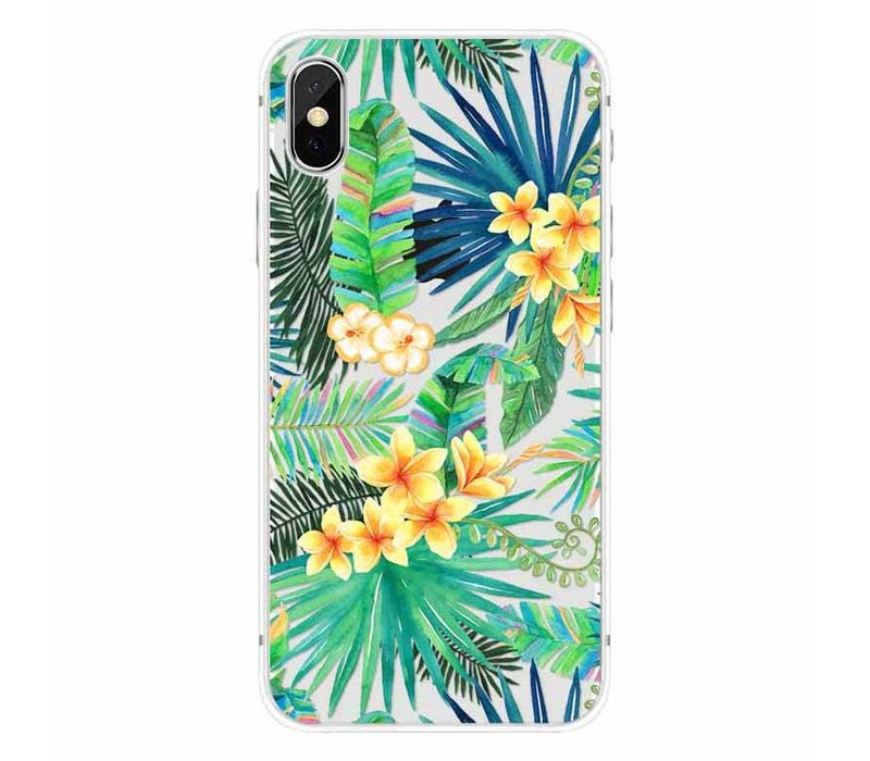 iPhone X Exotic Flower