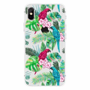 CWL iPhone X Peacock Floral