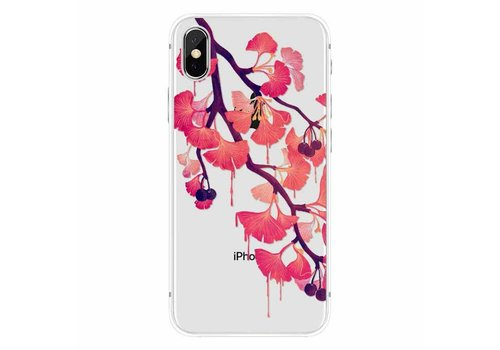 Apple iPhone X Red Blossom
