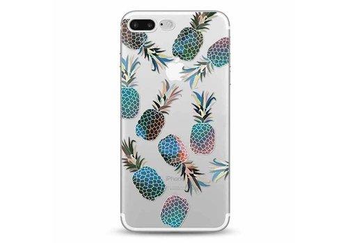 Apple iPhone 7 Plus / 8 Plus Blue Pineapple