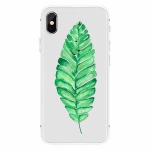 Apple iPhone X Tropical Plant