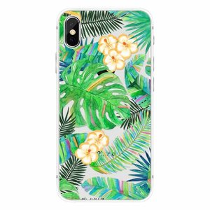 Cases We Love iPhone X Tropical Leaves