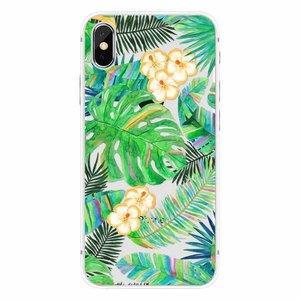CWL iPhone X Tropical Leaves