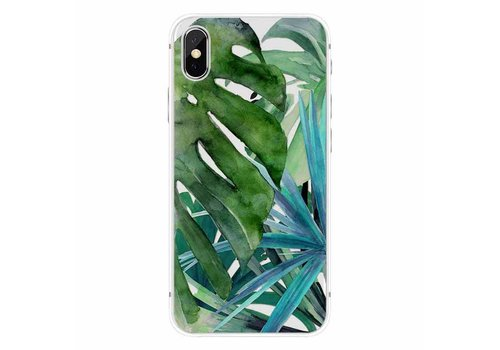 CWL iPhone X Botanical Leaves